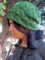 Tangled Branches Hat Knit Pattern