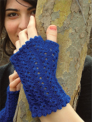 Veronica's Fingerless Mitts Knit Pattern