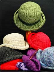 Easy Crocheted Crusher Hat Pattern