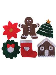Christmas Pot Holders Pattern Pack