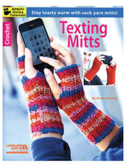 Texting Mitts Crochet Pattern