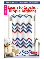 Learn to Crochet Ripple Afghans