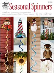 Plastic Canvas Seasonal Spinners