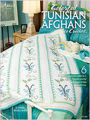 Colorful Tunisian Afghans to Crochet