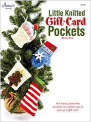 Little Knitted Gift Card Pockets