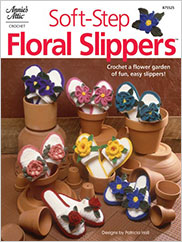 Soft-Step Floral Slippers