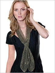 Kathleen Slit Scarf Knit Pattern
